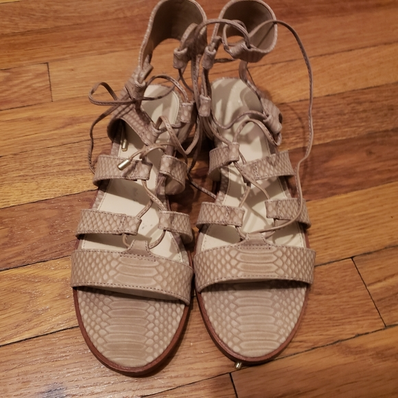 Vince Camuto Shoes - Vince Camuto Gladiator Tawny Sandals